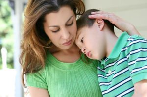 Mother and her child for medical malpractice lawyer in Delaware