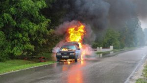 What to Do When You're Burned in an Automobile Accident